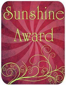 Feeling The Love: The Sunshine Award Nomination