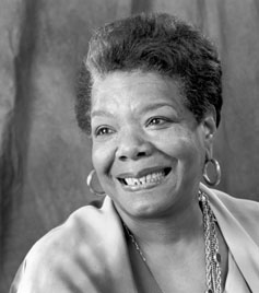 Advice from Maya Angelou