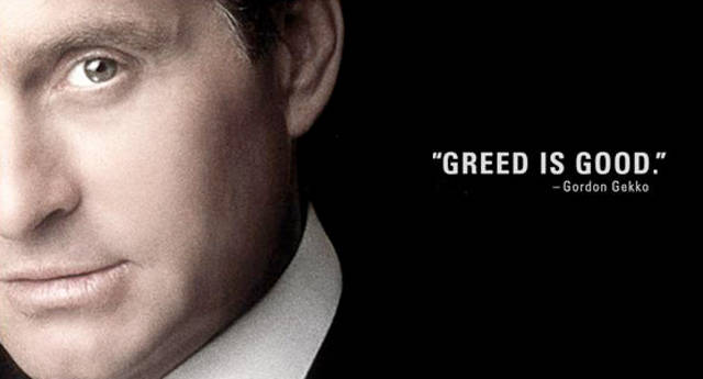 What are some good stories about greed?