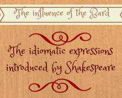 The Influence of Shakespeare on the English Language