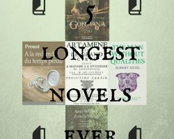 The 5 longest novels ever written