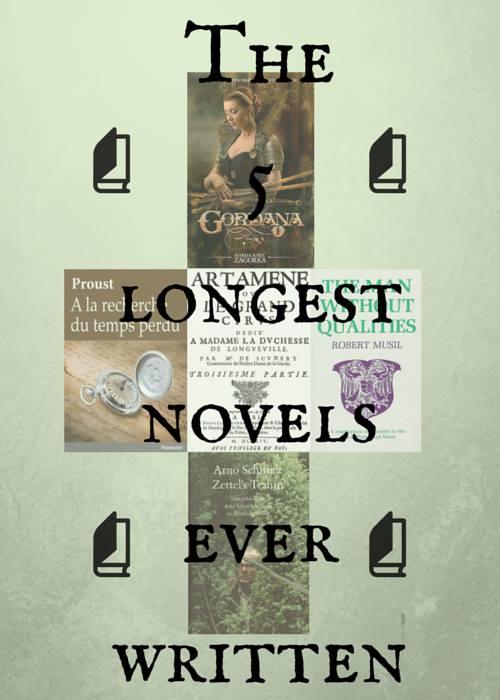 The 5 Longest Novels Ever Written Anglozine