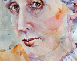 To Virginia Woolf, who created stars out of waves