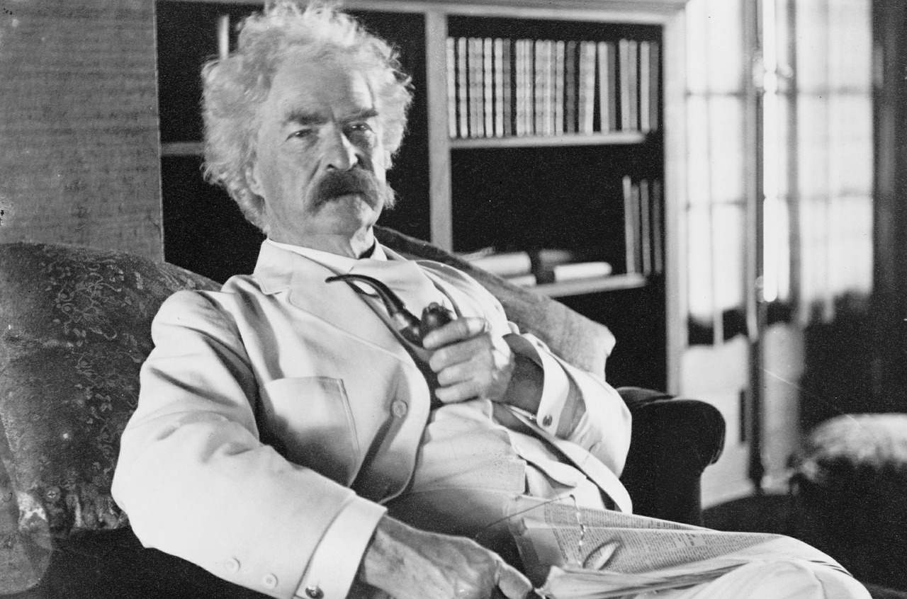 mark twain writing hacks