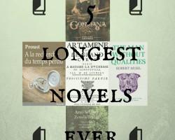 The 5 longest novels ever written