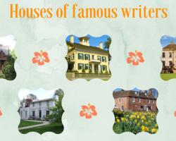 Houses of famous writers